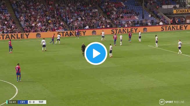 Watch Crystal Palace vs Tottenham Live Stream On TV