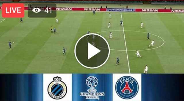 Watch Club Brugge KV vs PSG Live Streaming On TV