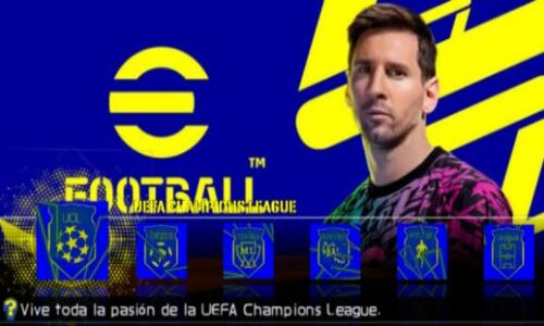 eFootball PES 22 Iso PPSSPP Europa Edition Offline Free Download On Android