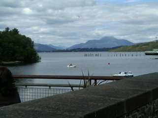 Loch Lomond from Balloch Shores