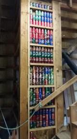 climbing-soda-can-collection