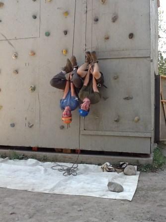 climbing-tarren-and-scott-hanging-upside-down