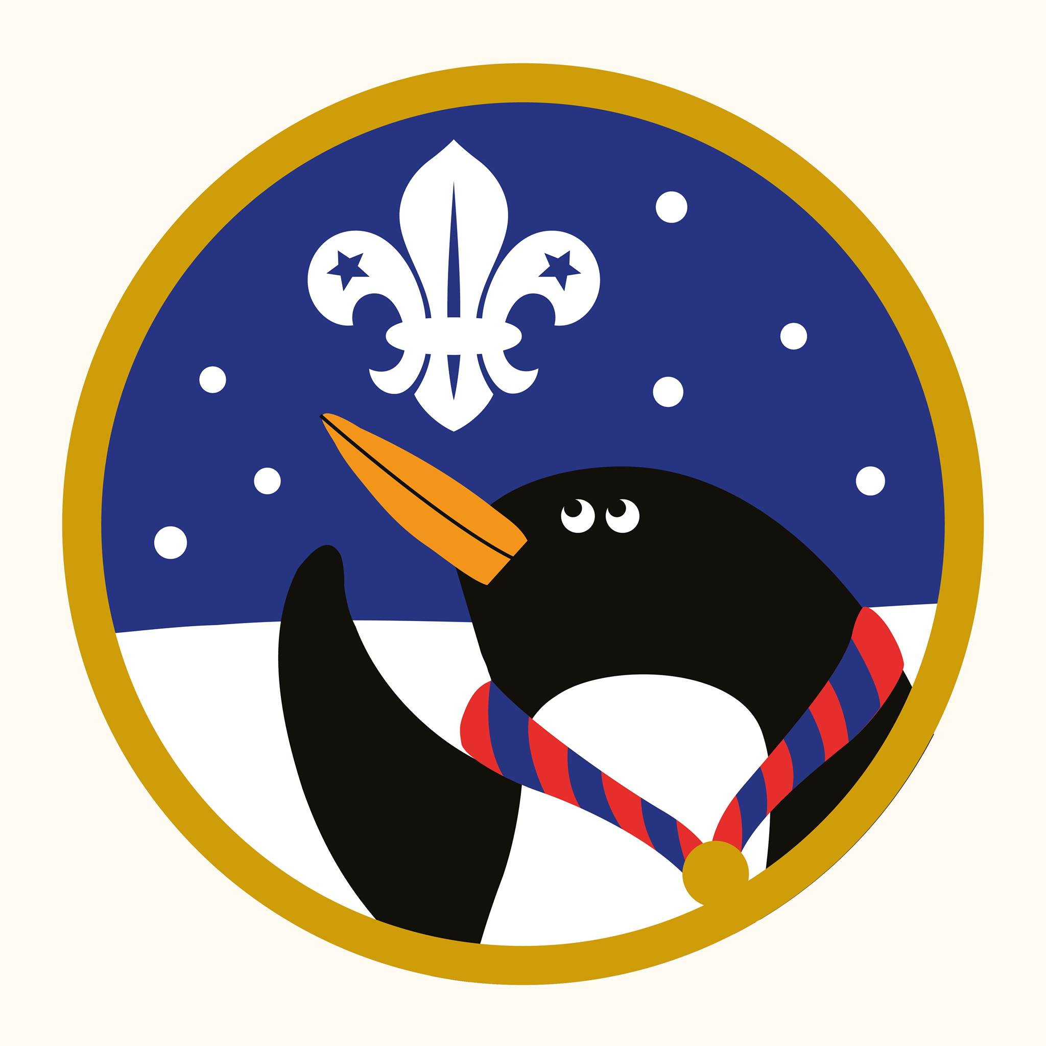 Scout Christmas Badge