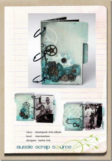 Scrapbook House Steampunk Mini Album