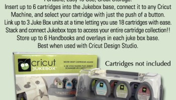 Cricut – Cartridge Promo | The Scrapbook House Blog