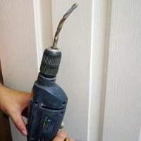 How to drill around corners