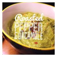 Roasted pepper guacamole