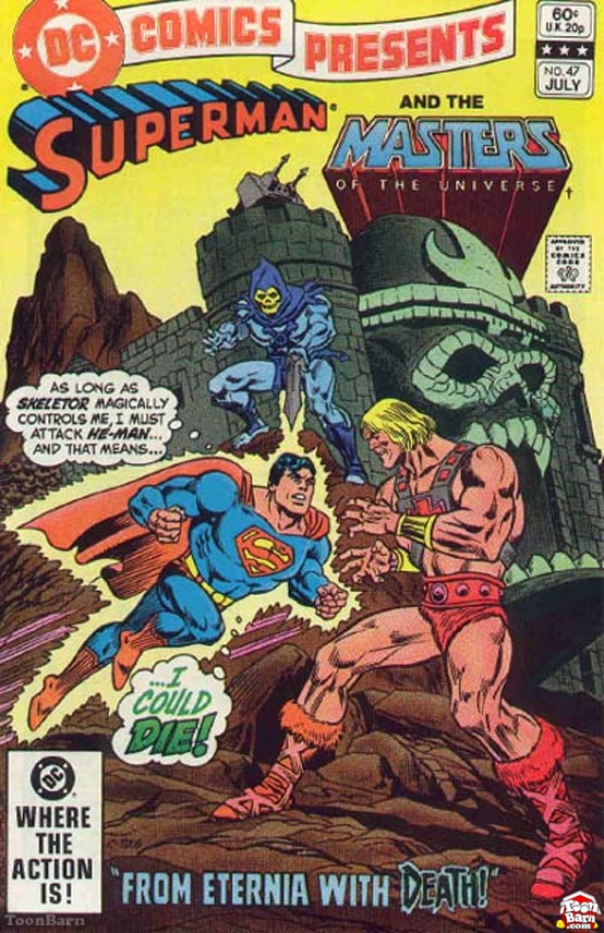 Superman and the Masters of the Universe - Orson Welles and Superman teaming up to save the world!
