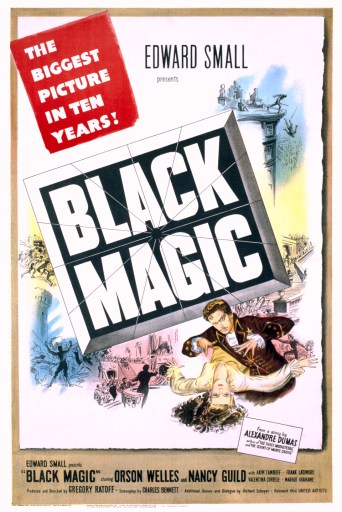 Black Magic - Orson Welles and Superman teaming up to save the world!