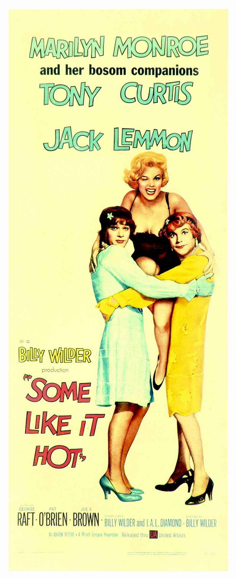 Some Like It Hot - American Poster