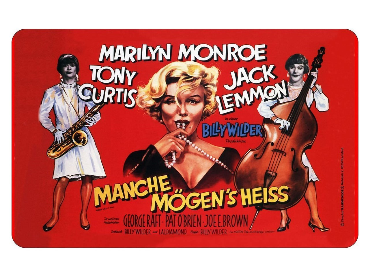 Some Like It Hot - German Poster