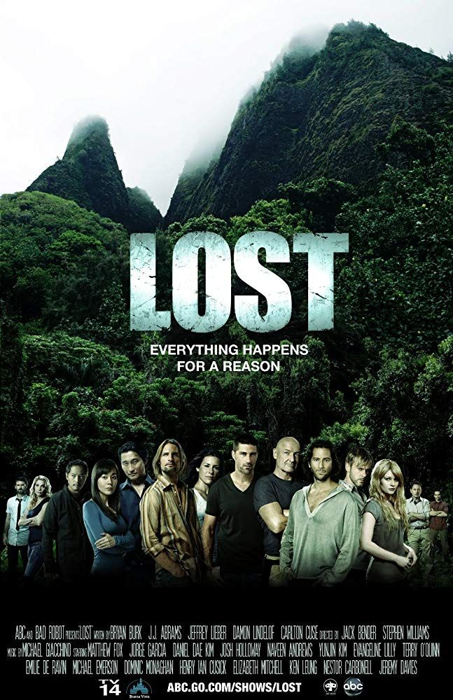 Lost (2004-2010, 121 episodes over 6 seasons, ABC)