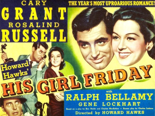 His Girl Friday - The First 10 Minutes - thescriptblog.com