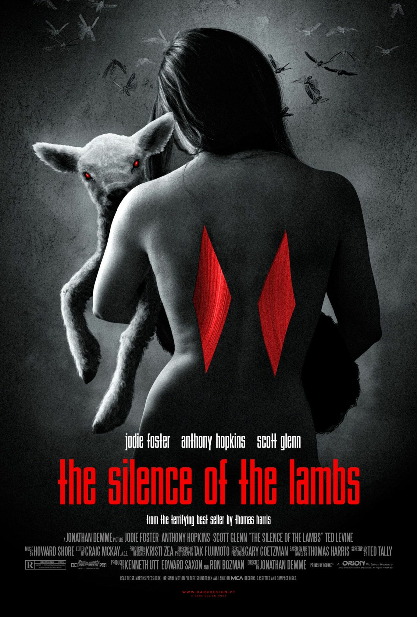 The Silence of the Lambs alternative poster 4 - thescriptblog.com