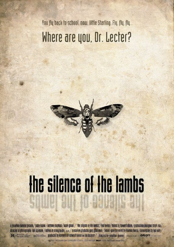 The Silence of the Lambs alternative poster 5 thescriptblog.com