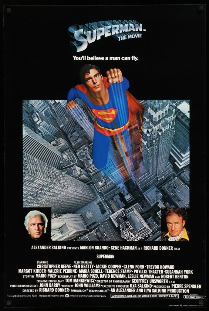 Superman (1978). Directed by Richard Donner - thescriptblog.com