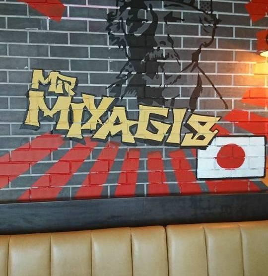 Mr. Miyagi's
