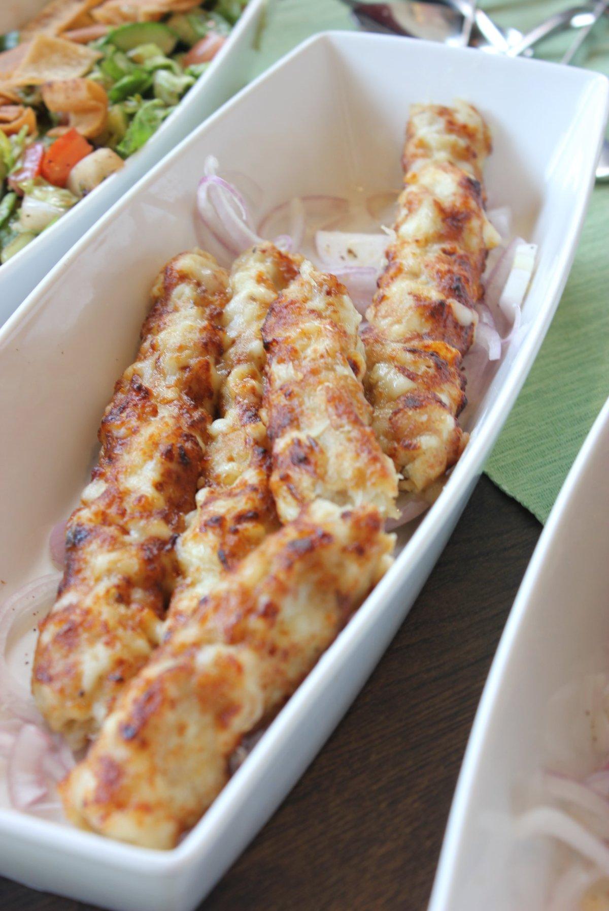 MAC_Chicken Cheese Kebab