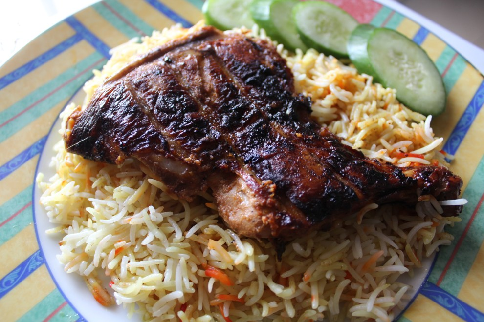 AZG_Grilled Chicken Biryani