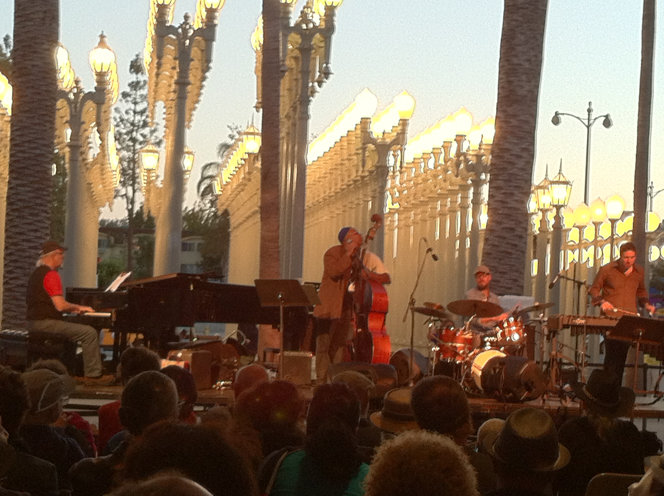 Dwight Trible performs at Jazz at LACMA