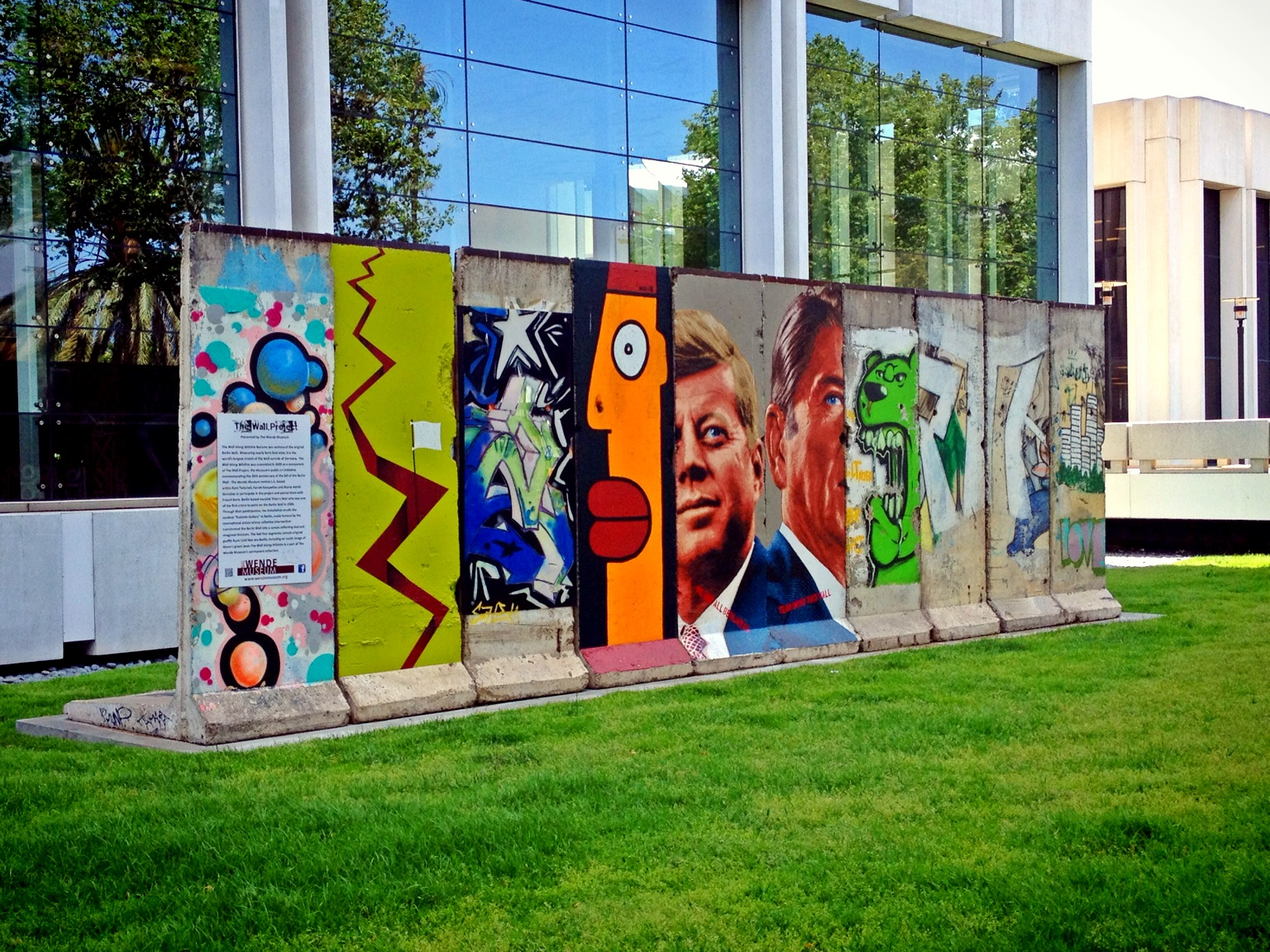 The Berlin Wall in LA