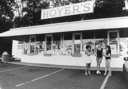 """Hoyer's Ice Cream"" Copyright 2011 by Cecelia Baltich-Schecter"