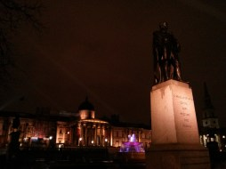 """Trafalgar Square"" Copyright 2014 by Cecelia Baltich-Schecter"