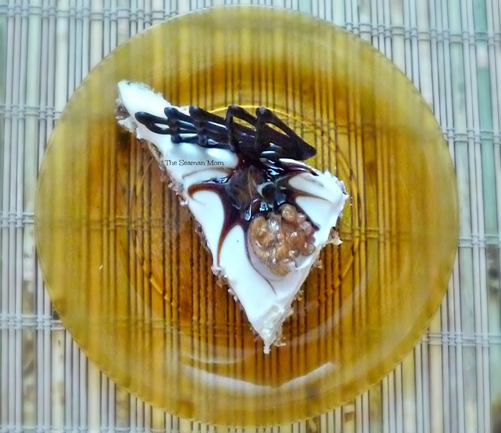 Walnuts meringue cake recipe