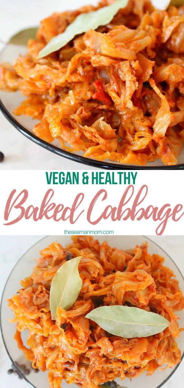 Vegan cabbage recipe