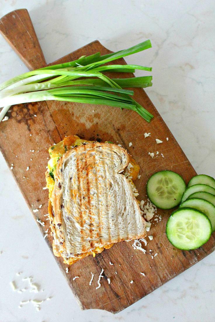 Omelette sandwich recipe 4