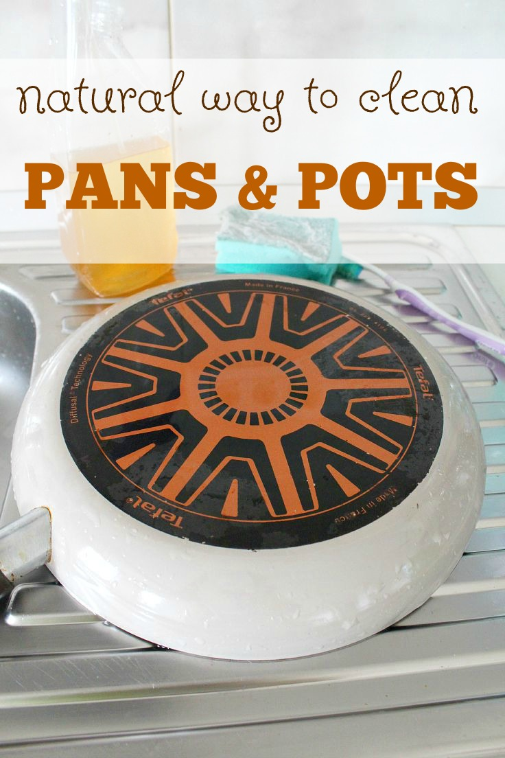 Tired of spending too much time scrubbing your pots and pans? This natural way for cleaning pans and pots is not only easy and enjoyable but it willextend the life of your pans and pots too. Here'show to clean a frying pan!