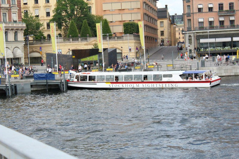 Stockholm sightseeing water ferry