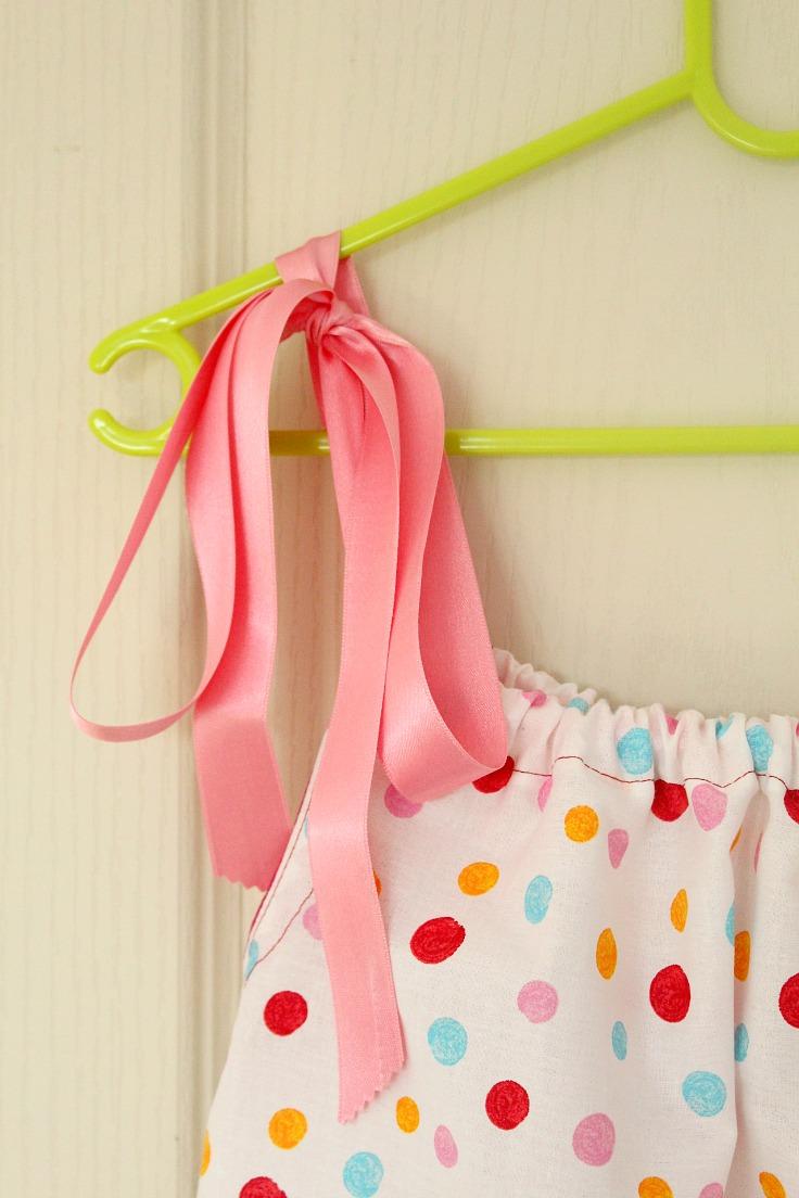 Pillowcase dress tutorial for beginners