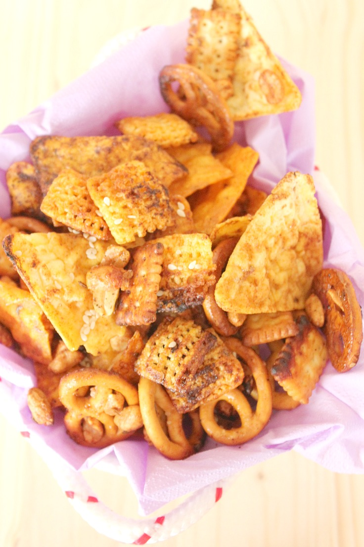 Spicy Asian Party Mix Recipe