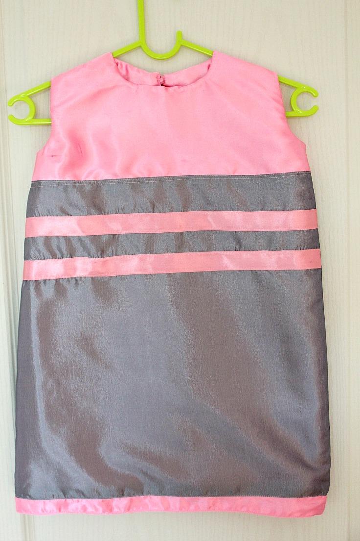 Sleeveless a line dress pattern