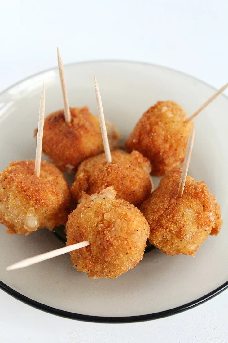 Spicy Fried Cheese Balls recipes