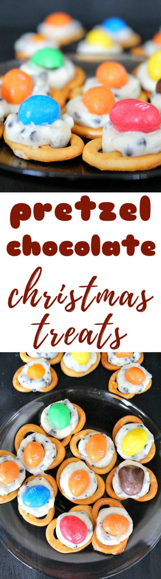 Pretzel Christmas treats