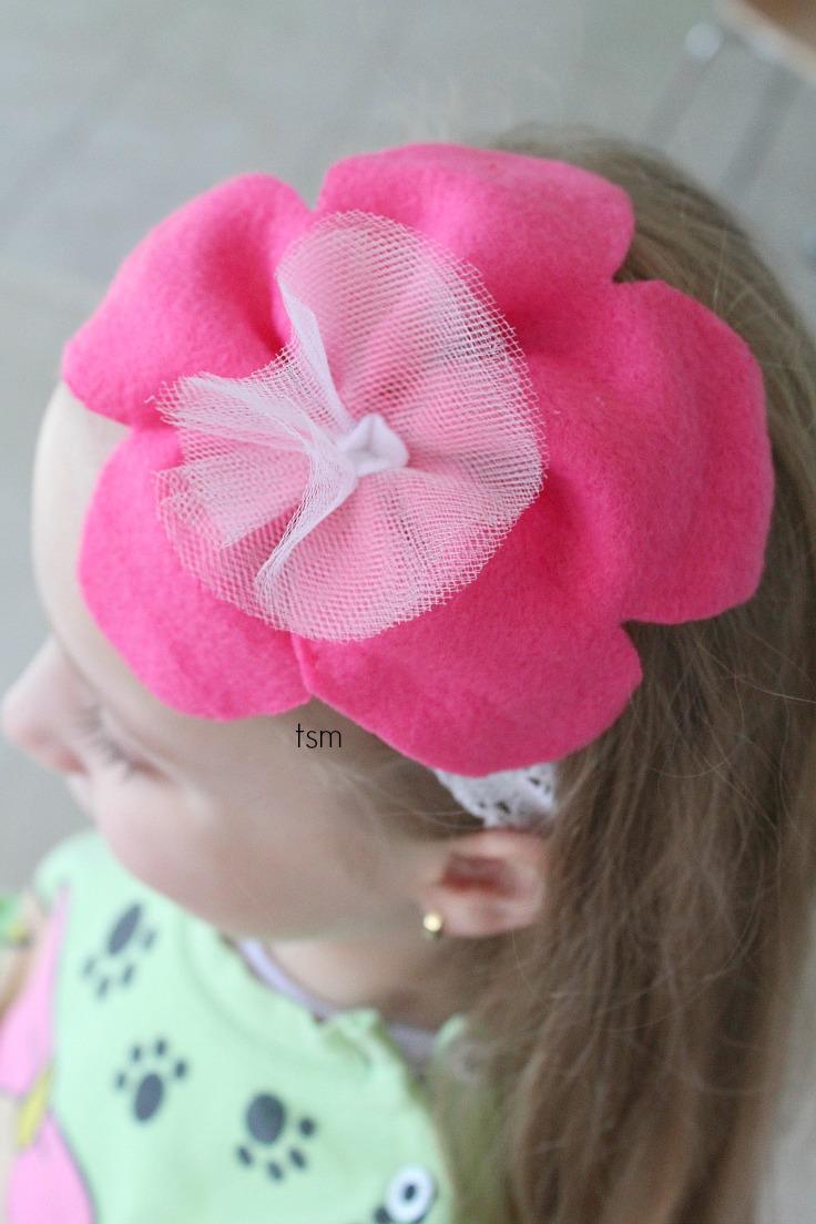Lace Headband Tutorial