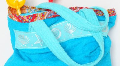 Towel Beach Bag Tutorial