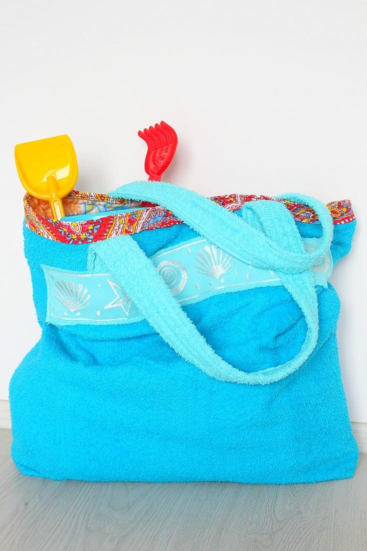 Tutorial: Towel beach or pool bag