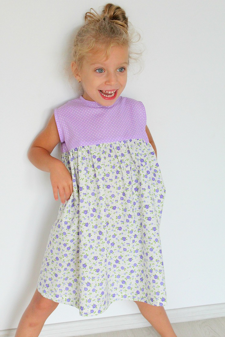 easy girls dress