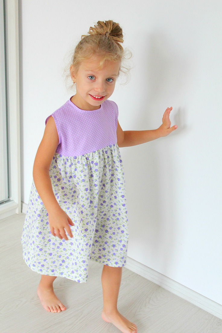 gathered frock