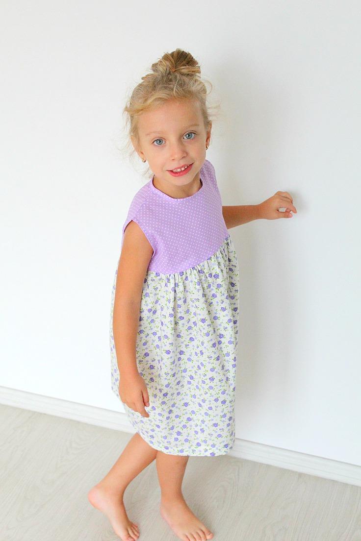 Gathered dress tutorial