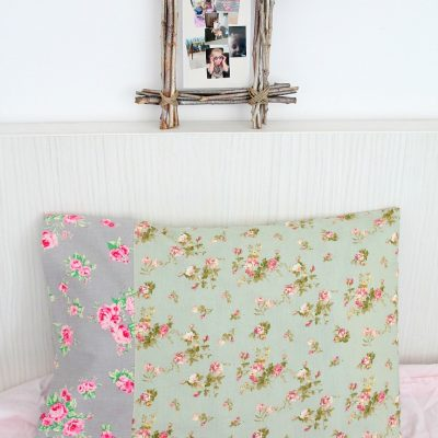 Pillowcase sewing tutorial