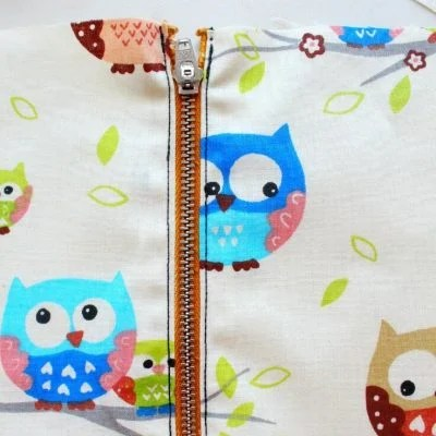 Easiest Way to Sew a Zipper
