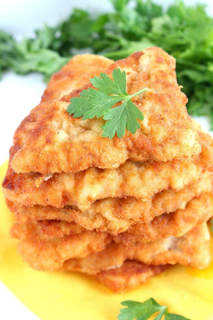 fried lemon chicken recipe