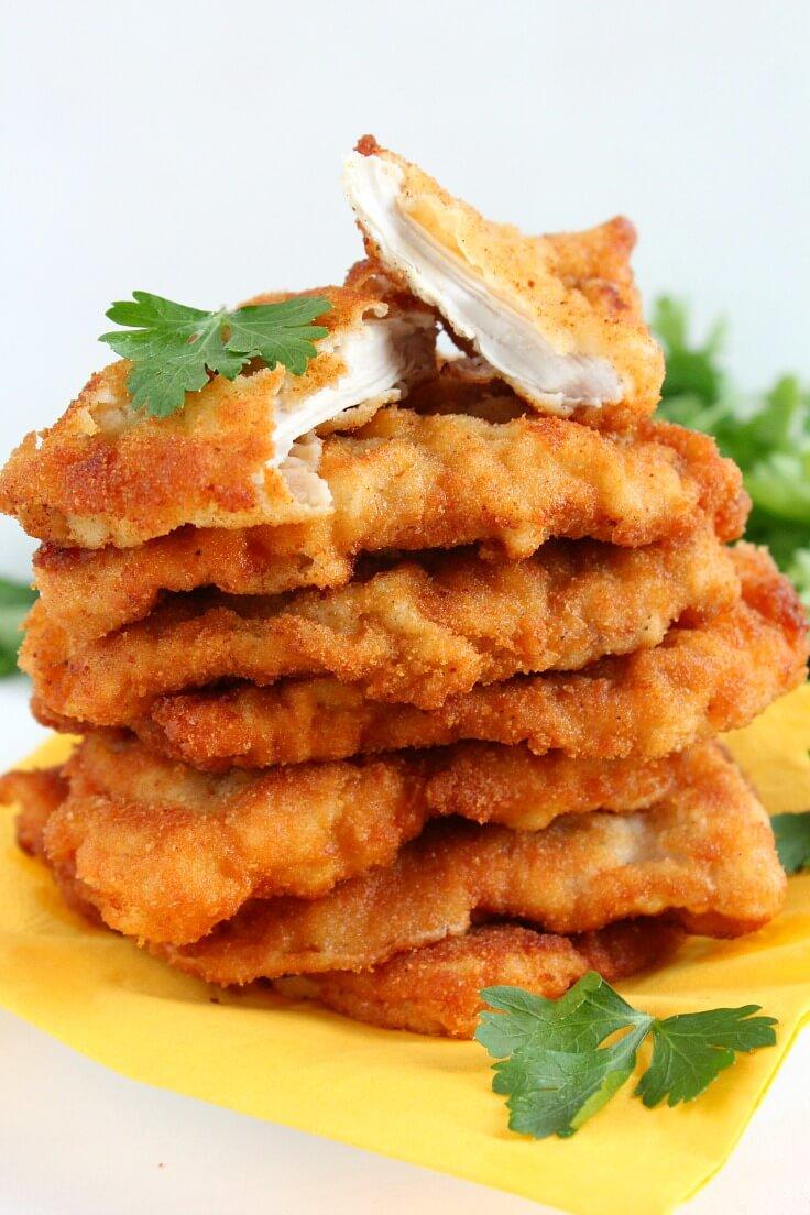 Lemony Fried Chicken