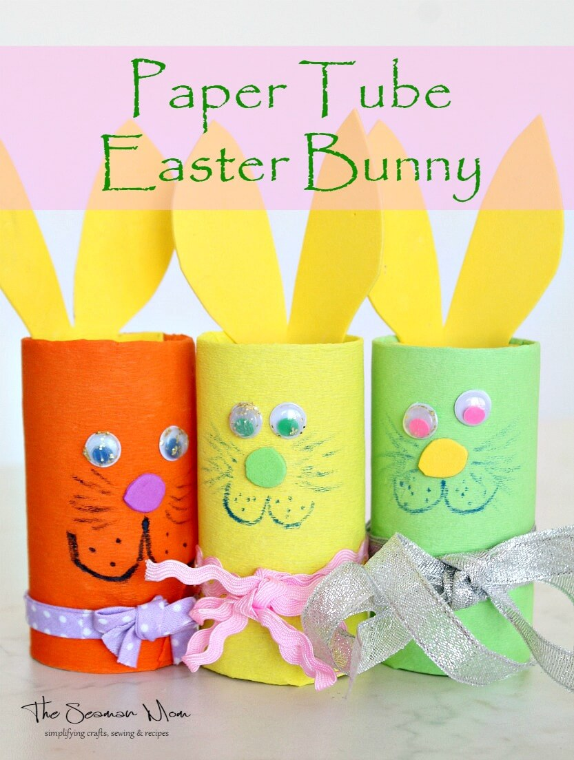 Toilet Paper Tube Bunnies