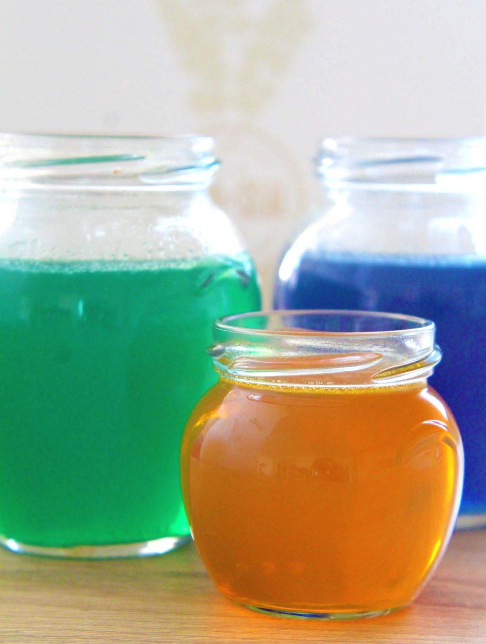 DIY gel air freshener