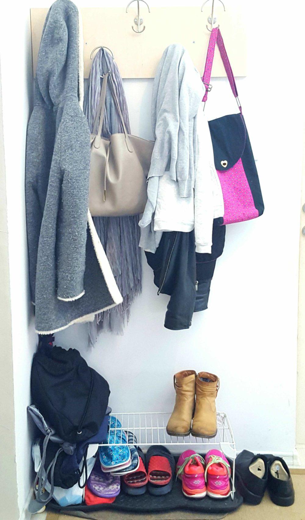 front door shoe storage